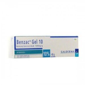 BENZAC 100 MG/G GEL TOPICO 40 G
