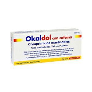 OKALDOL CON CAFEINA 500/250/30 MG 12 COMPRIMIDOS
