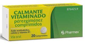 CALMAGRIP 20 COMPRIMIDOS