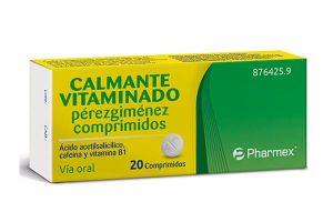 CALMANTE VITAMINADO PEREZ GIMENEZ 20 COMPRIMIDOS