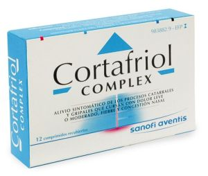 CORTAFRIOL COMPLEX 12 COMPRIMIDOS RECUBIERTOS