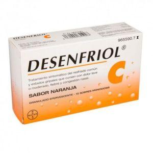 DESENFRIOL C 10 SOBRES