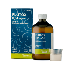 FLUTOX 3.54 MG/ML JARABE 200 ML
