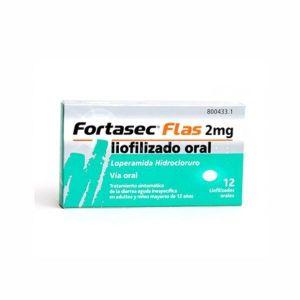 FORTASEC FLAS 2MG 12 LIOFILIZADOS
