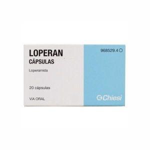 LOPERAN 2 MG 20 CAPSULAS