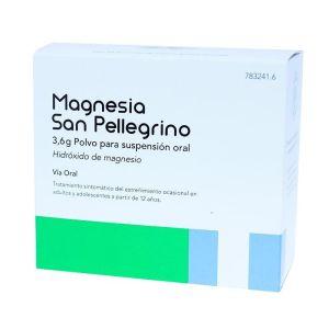 MAGNESIA SAN PELLEGRINO 3.6 G 20 SOBRES POLVO SU