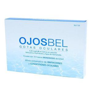 OJOSBEL COLIRIO 10 MONODOSIS SOLUCION 0.5 ML
