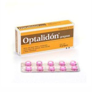 OPTALIDON 175/25 MG 20 GRAGEAS