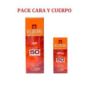 HELIOCARE PACK GEL 50 200ML+XF50GEL