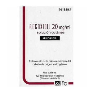 REGAXIDIL 20 MG/ML SOLUCION CUTANEA 2 FRASCOS 60