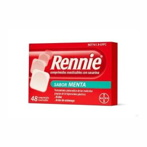 RENNIE 48 COMPRIMIDOS MASTICABLES C/ SACARINA