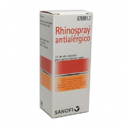 RHINOSPRAY ANTIALERGICO NEBULIZADOR NASAL 12 ML