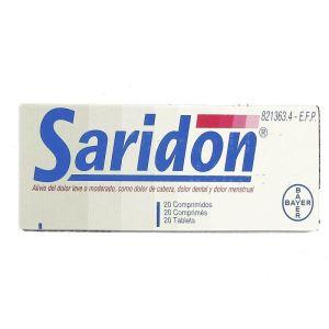 SARIDON 20 COMPRIMIDOS
