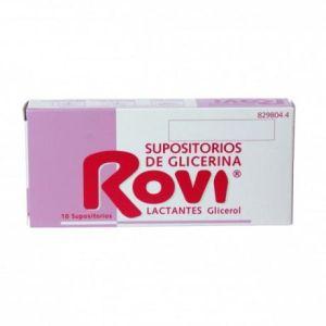 SUPOSITORIOS GLICERINA ROVI LACTANTES 10 SUPOSIT