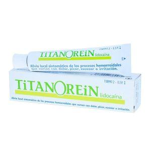 TITANOREIN LIDOCAINA CREMA RECTAL 20 G