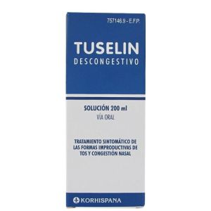 TUSELIN DESCONGESTIVO JARABE 200 ML